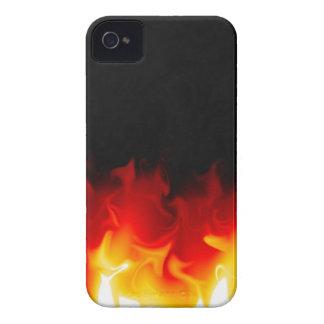 Regalo del infierno en fuego iPhone 4 Case-Mate protectores