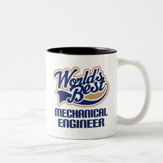 Regalo del ingeniero industrial taza de dos tonos