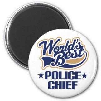 Regalo del jefe de policía imanes