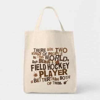 Regalo del jugador de hockey hierba bolsas