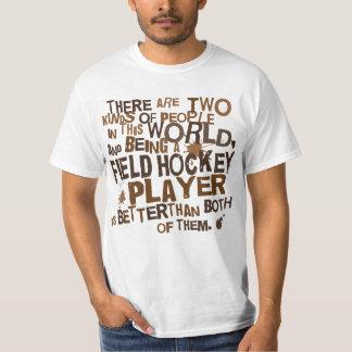 Regalo del jugador de hockey hierba playera
