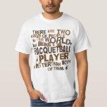 Regalo del jugador del Racquetball Camisas