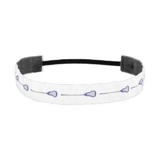 regalo del lacrosse de los chicas bandas de cabello antideslizantes