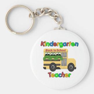 Regalo del maestro de jardín de infancia llavero personalizado