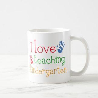 Regalo del maestro de jardín de infancia tazas de café