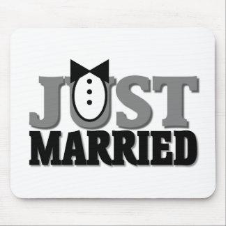 Regalo del matrimonio homosexual alfombrilla de ratones