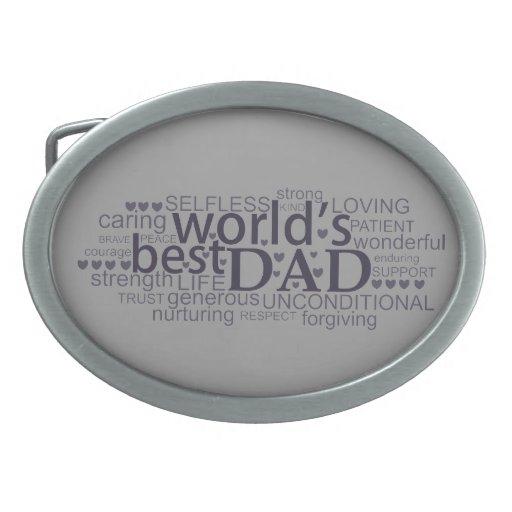 regalo del mensaje especial para la hebilla del ci hebilla de cinturon oval