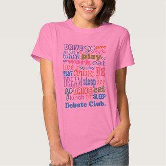 Regalo del miembro de club del discusión para la camisas