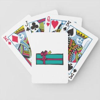 Regalo del navidad baraja de cartas