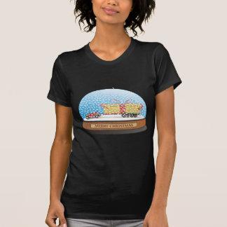 Regalo del navidad del coche de Eco Camiseta
