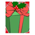 Regalo del navidad postal