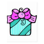 Regalo del navidad tarjeta postal