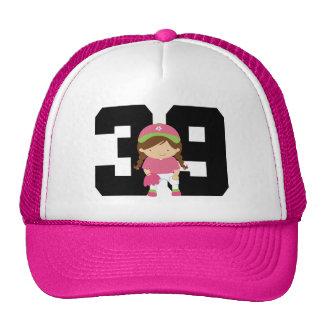 Regalo del número 39 del uniforme del jugador de s gorro de camionero