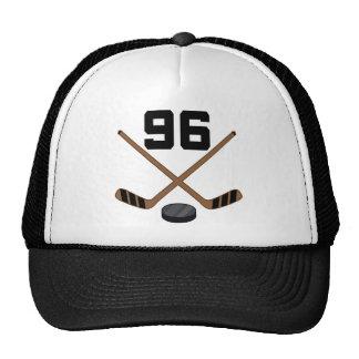 Regalo del número 96 del jersey del jugador del ho gorras de camionero
