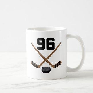 Regalo del número 96 del jersey del jugador del ho taza de café