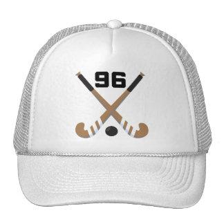 Regalo del número 96 del uniforme del jugador de h gorro de camionero