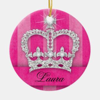 Regalo del ornamento de la corona de la princesa d ornaments para arbol de navidad