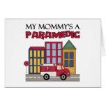 Regalo del paramédico tarjeta