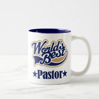 Regalo del pastor para (mundos mejores) taza