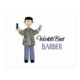 Regalo del peluquero tarjetas postales