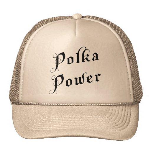 Regalo del poder de la polca gorra