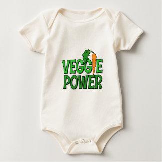 Regalo del poder del Veggie Body Para Bebé