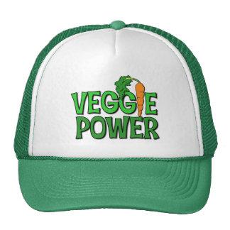 Regalo del poder del Veggie Gorros