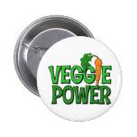 Regalo del poder del Veggie Pin