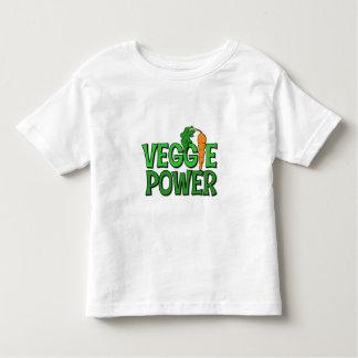Regalo del poder del Veggie Playera