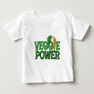 Regalo del poder del Veggie Playera De Bebé