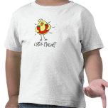 Regalo del pollo camisetas