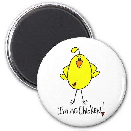 Regalo del pollo imanes de nevera