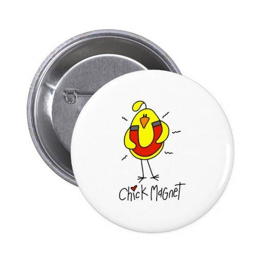 Regalo del pollo pin