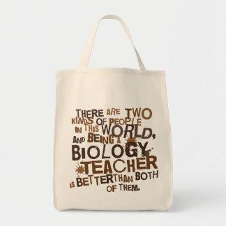 Regalo del profesor de biología bolsas