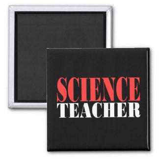 Regalo del profesor de ciencias imán para frigorifico