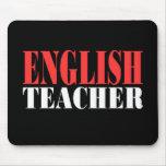 Regalo del profesor de inglés tapetes de ratones