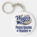 Regalo del profesor de la educación física para (m llavero