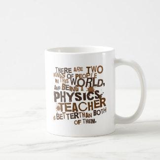 Regalo del profesor de la física taza básica blanca