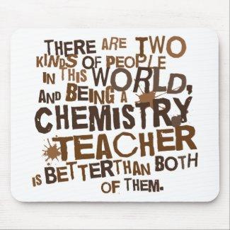 Alfombrilla de ratón profesor de química
