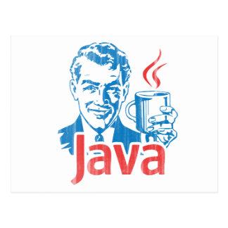 Regalo del programador de Java Postales