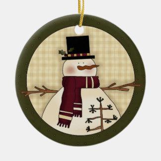 Regalo del recuerdo del navidad del país del muñec ornamento de navidad