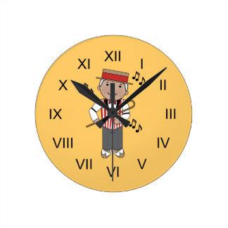 Regalo del reloj de la música del cantante de la b