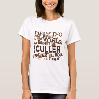 Regalo del Sculler Playera