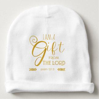 Regalo del señor, fuente del oro gorrito para bebe