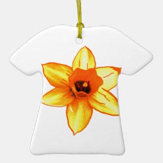 Regalo del tamaño de la disminución del aumento de adorno de cerámica en forma de camiseta