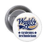 Regalo del técnico de los sistemas pin