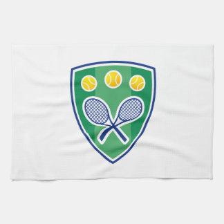 Regalo del tenis toalla