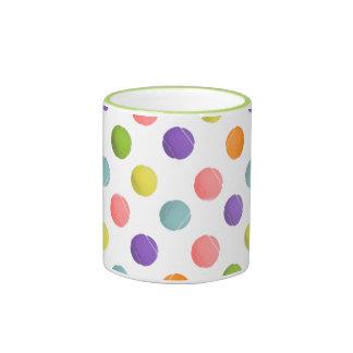 regalo del tenis taza de dos colores