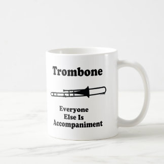 Regalo del Trombone Taza Clásica