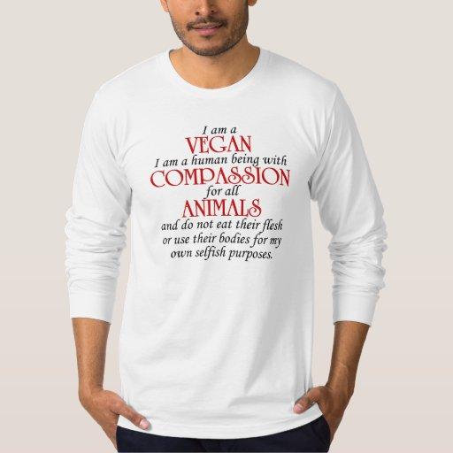 Regalo del vegano playera